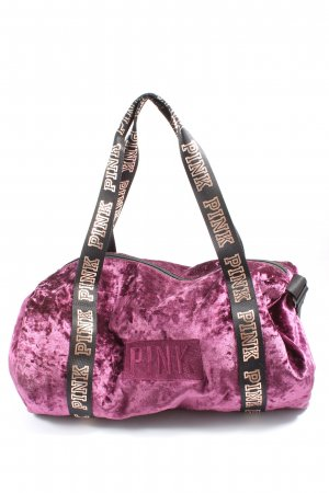 Pink Sports Bag pink casual look