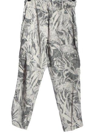 Pink Pantalone jersey grigio chiaro stampa integrale stile casual