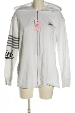 Pink Giacca fitness caratteri stampati stile casual