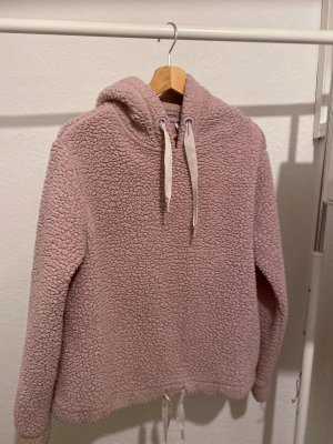 Pink-Teddy Kleid mit Kapuze