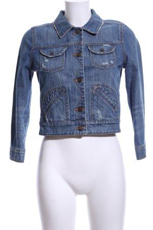 Pink Victoria's Secret Jeansjacke blau Casual-Look