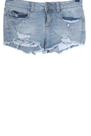 Pink Victoria's Secret Pantalón corto de tela vaquera azul look casual