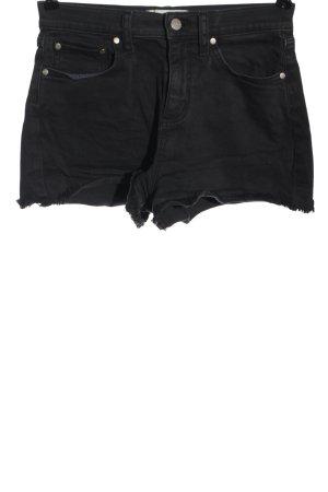 Pink Victoria's Secret Pantalón corto de tela vaquera negro look casual