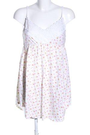 Pink Victoria's Secret Minikleid Blumenmuster Casual-Look