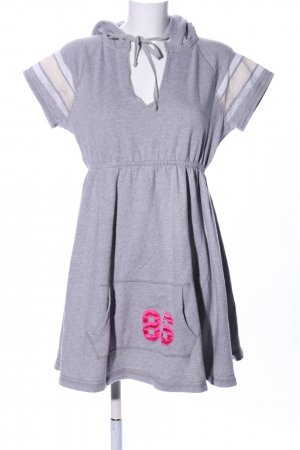Pink Victoria's Secret Sweatkleid hellgrau meliert Casual-Look