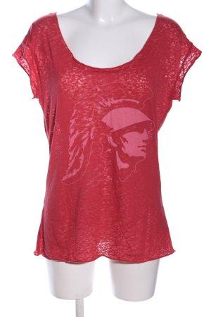 Pink Victoria's Secret T-Shirt rot-pink Motivdruck Casual-Look