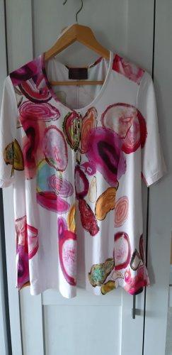 Pink weißes t-shirt