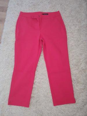 Comma Pantalone a 3/4 rosa-fucsia neon