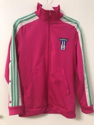 Pinke Adidas Trainingsjacke
