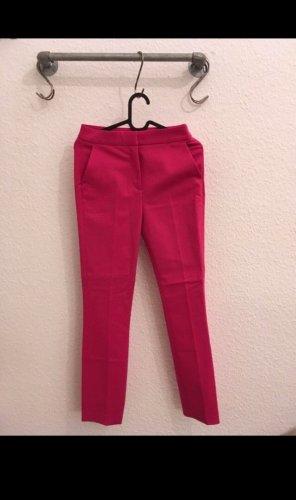 Zara Pantalone chino rosso lampone-rosa