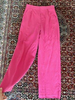 Zara Spodnie Marlena różowy