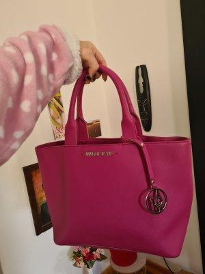 Pinke Armani Jeans Handtasche