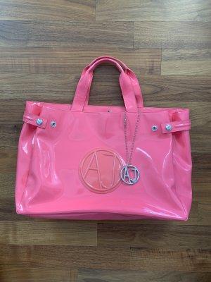 Armani Jeans Sac à main rose-rose fluo