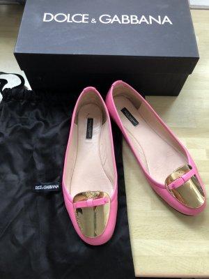 Pinke Ballerinas von dolce and Gabbana