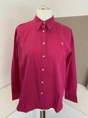 Pinke Bluse von Lauren by Ralph Lauren