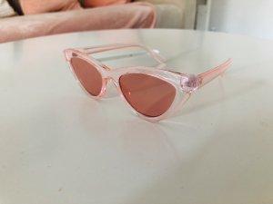Pinke Brille für Sommer