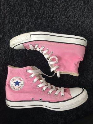 Converse High Top Sneaker pink-pink