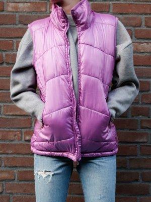 Pinke Daunen Weste von H&M Sport - Größe 40