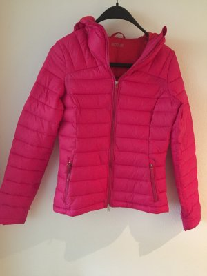 active Doudoune rose-rouge fluo polyester