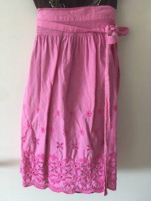 Almenrausch Delantal folclórico rosa