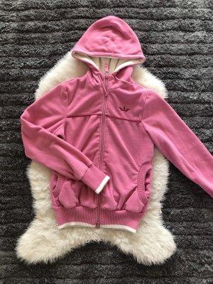 Pinke Fleece Jacke