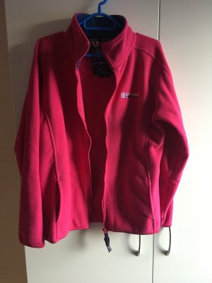Pinke fleece Jacke X-Land