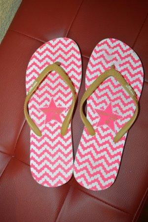 Pinke Flip Flops Gr. 40 von watercult