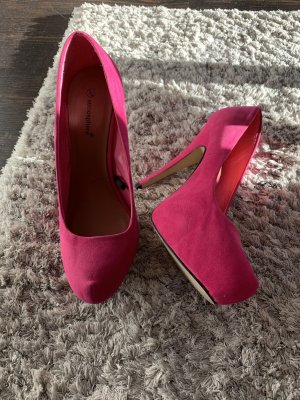 Pinke High-Heels