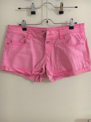 Terranova Shorts rosa neón