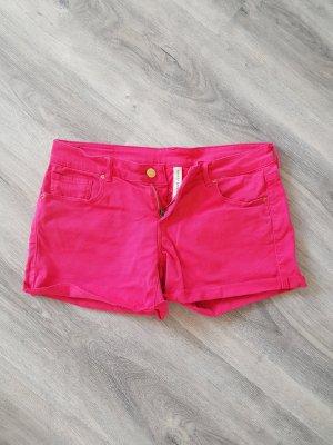 Mango Jeans Hot pants rosa