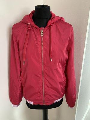 Pinke Jacke mit kaputze gr . M