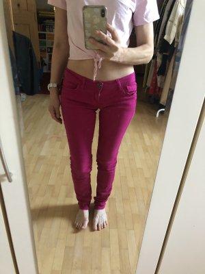 Pinke Jeans, skinny fit, low waist