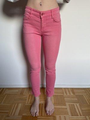Mac Jeans a 7/8 rosa-rosa