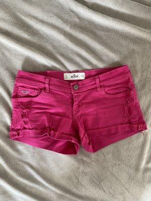 Pinke Jeansshorts Hollister