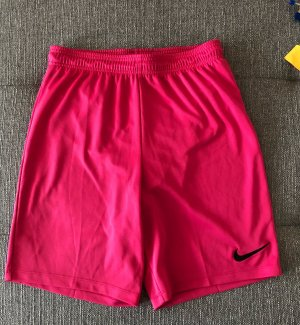 Pinke kurze Nike Jogginghose S
