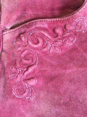 Pinke Lederhose Gr. 38