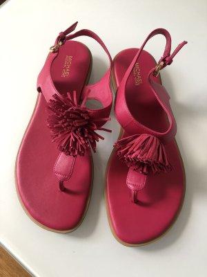 Michael Kors Sandalo toe-post rosso lampone-magenta