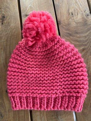 Pinke Mütze / Pudelmütze