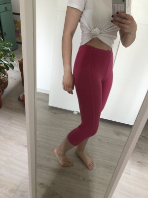 Pinke NIKE-Sportleggins