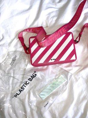 Pinke Off White Tasche