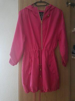 Chubasquero rosa