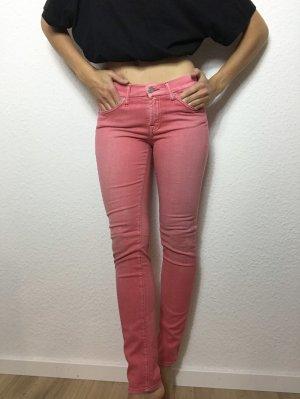 7 For All Mankind Drainpipe Trousers multicolored