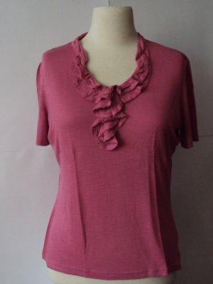 Betty Barclay Ruffled Blouse pink