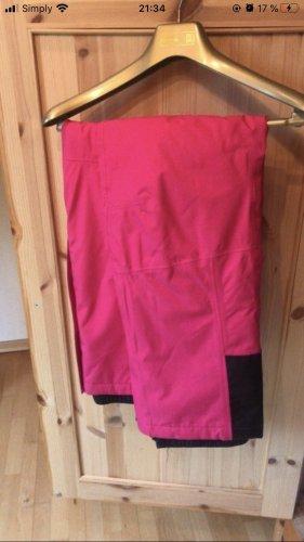 rukka Pantalón de esquí rosa-negro