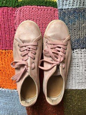 Blackstone Basket à lacet rose-rose