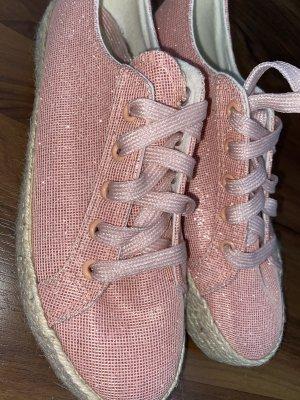 Deichmann Zapatos formales sin cordones rosa claro
