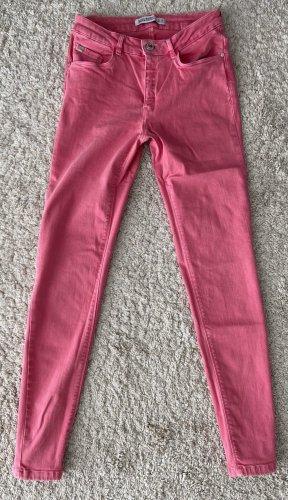 pinke skinny Jeans