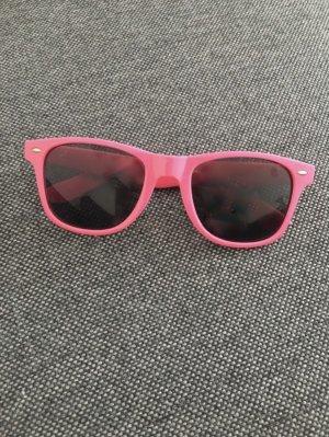 Pinke Sonnenbrille