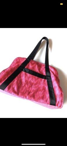 Adidas Sporttas roze-zwart