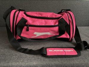 Bolsa de gimnasio rosa neón